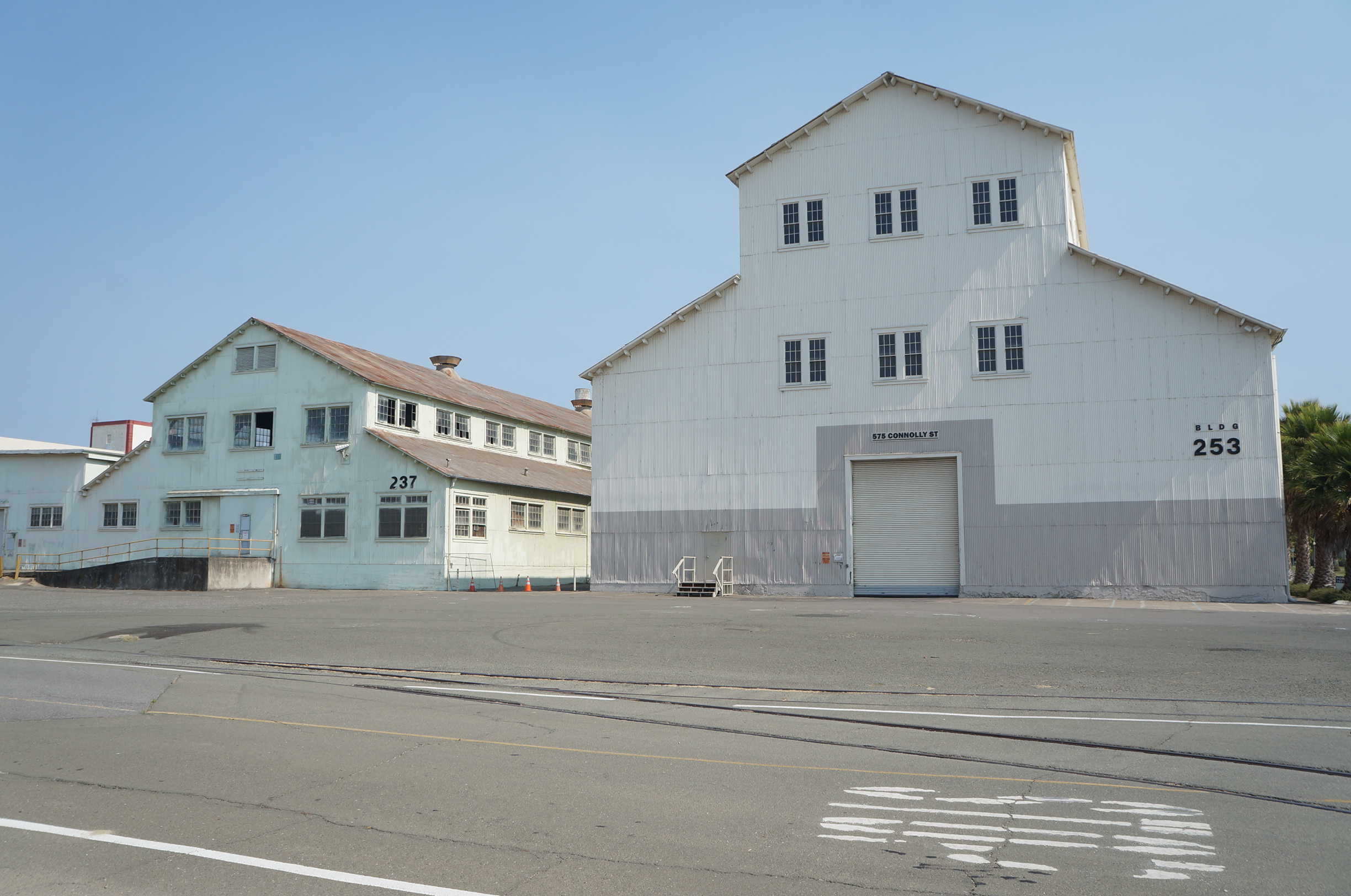 Mare Island Building 237 and 253